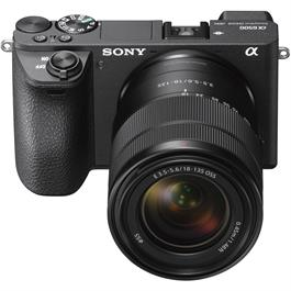 Sony A6500 digital compact system camera + 18-135mm lens Black Thumbnail Image 2