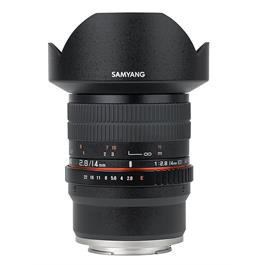 Samyang 14mm f/2.8 ED AS IF UMC Sony E-Mount Lens thumbnail