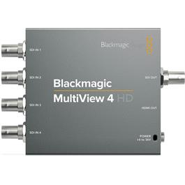 Blackmagic Design Blackmagic Multiview 4 HD in Black Thumbnail Image 1
