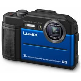 Panasonic Lumix FT7  Digital Still camera Blue Thumbnail Image 1