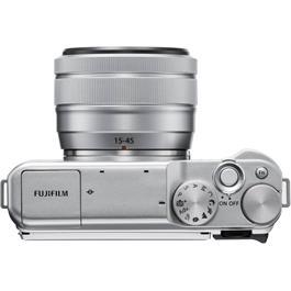 Fujifilm X-A20 Silver Mirrorless Camera + XC 15-45mm f/3.5-5.6 OIS PZ Lens Kit Thumbnail Image 2