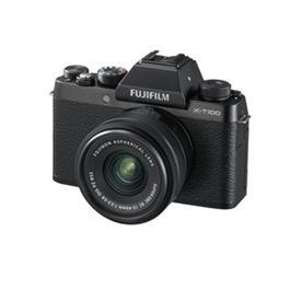 Fujifilm X-T100 mirrorless digital camera + 15-45mm XC lens Black thumbnail