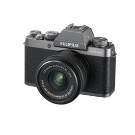 Fujifilm X-T100 mirrorless digital camera + 15-45mm  XC lens Dark Silver Thumbnail Image 1