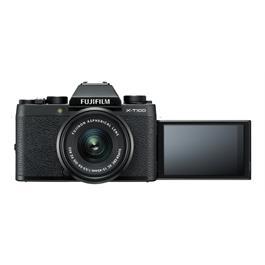 Fujifilm X-T100 mirrorless digital camera + 15-45mm XC lens Black Thumbnail Image 3