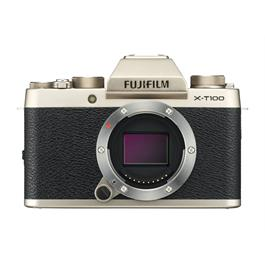 Fujifilm X-T100 mirrorless digital camera + 15-45mm XC lens Champagne Thumbnail Image 7