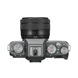 Fujifilm X-T100 mirrorless digital camera + 15-45mm  XC lens Dark Silver Thumbnail Image 2