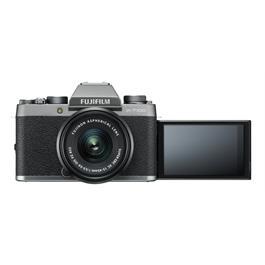 Fujifilm X-T100 mirrorless digital camera + 15-45mm  XC lens Dark Silver Thumbnail Image 3