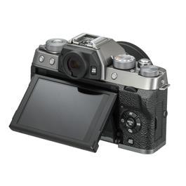 Fujifilm X-T100 mirrorless digital camera + 15-45mm  XC lens Dark Silver Thumbnail Image 4