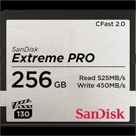 SanDisk Extreme Pro 256GB CFast 2.0 thumbnail