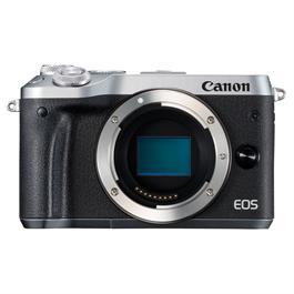 Canon EOS M6 Mirrorless Camera Body - Silver thumbnail