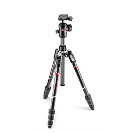 Manfrotto BeFree Advanced Carbon Fibre Tripod and Ball Head Kit - MKBFRTC4-BH  thumbnail
