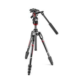 Manfrotto BeFree Live Carbon Fibre Tripod and Fluid Head Kit - MVKBFRTC-LIVE thumbnail