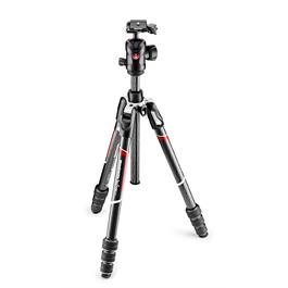 Manfrotto BeFree GT Carbon Fibre Tripod and Ball Head Kit - MKBFRTC4GT-BH thumbnail