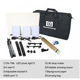 NanGuang LED Photo Light Kit 3 Heads Kit Thumbnail Image 4