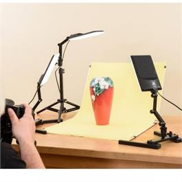 NanGuang LED Photo Light Kit 3 Heads Kit Thumbnail Image 6