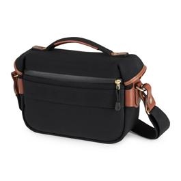 Hadley Small Pro Black Canvas/Tan