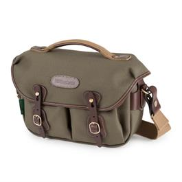 Billingham Hadley Small Pro Shoulder Bag - Sage FibreNyte/Chocolate thumbnail