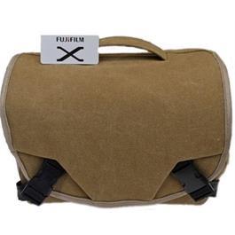 Fujifilm GEO Compact Shoulder bag CSC Bag - Brown Thumbnail Image 1
