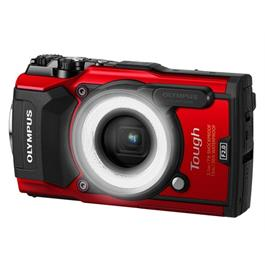 Olympus Tough TG-5 Red + LG-1 light guide Thumbnail Image 0