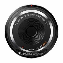 Olympus 9mm f8 Fisheye Body Cap Lens - Black Thumbnail Image 1