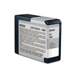 Epson T5807 Ultrachrome K3 Light Black (80ml) - for PRO 3800 thumbnail