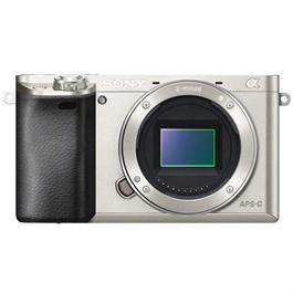 Sony A6000 Silver Mirrorless Digital Camera - Body Only thumbnail