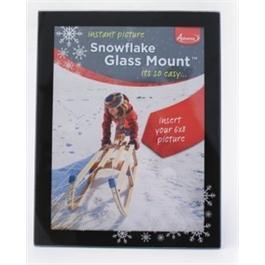 Adventa Glass Mount Snowflake thumbnail