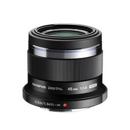Olympus M.Zuiko Digital 45mm f/1.8 Lens - Black thumbnail
