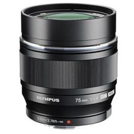 Olympus M.Zuiko Digital ED 75mm f/1.8 Telephoto Lens - Black thumbnail