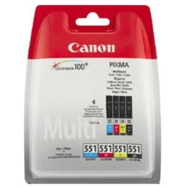 Canon CLI-551 B,C,M,Y Multipack for PIXMA iP7250 thumbnail