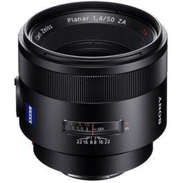 Sony A-Mount 50mm Lens f/1.4 Carl Zeiss Planar T* ZA SSM thumbnail