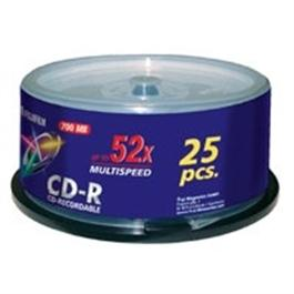Fujifilm CD-R 700MB 52x Speed (25 pack) thumbnail