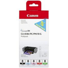 Canon CLI-8 BK/PC/PM/R/G Multi Pack thumbnail