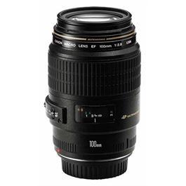Canon EF 100mm f/2.8 USM Autofocus Macro Lens thumbnail