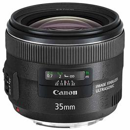Canon EF 35mm f/2 IS USM Wide Angle Lens thumbnail
