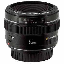 Canon EF 50mm f/1.4 USM Standard Lens thumbnail