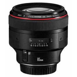 Canon EF 85mm f/1.2L II USM Short Telephoto Lens thumbnail