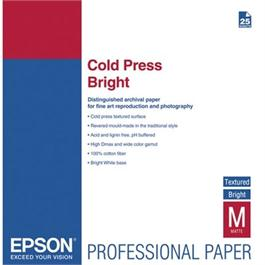 Epson Cold Press Bright A3+ 25 Sheets thumbnail