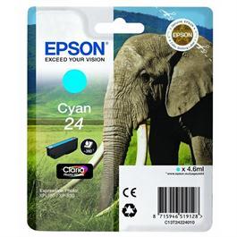 Epson Elephant 24XL Cyan T2432 thumbnail