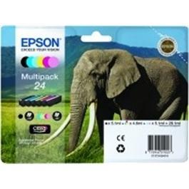 Epson Elephant 24XL Multipack T2438 thumbnail