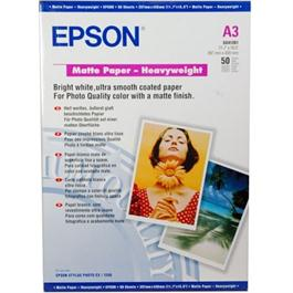 Epson A4 Heavyweight Matte Paper 40 Sheets (167gsm) thumbnail