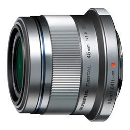 Olympus M.Zuiko Digital 45mm f/1.8 Lens - Silver thumbnail