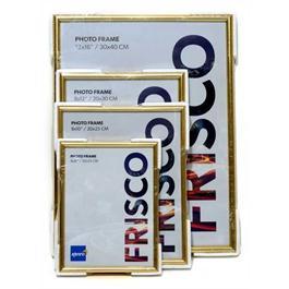 """Kenro 6 x 4"""" (15 x 10cm) Frisco Photo Frame - Gold thumbnail"""