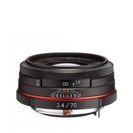 HD Pentax-DA 70mm f/2.4 Limited Lens - Black thumbnail