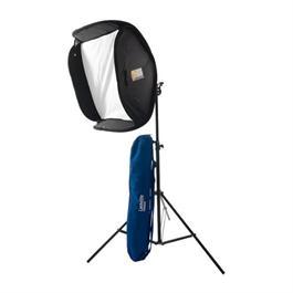 "Lastolite Ezybox Hotshoe Kit 60x60cm (24"") w/ Stand, Tilthead & Handle thumbnail"