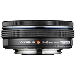 Olympus M.Zuiko Digital ED 14-42mm f/3.5-5.6 EZ Zoom Lens - Black Thumbnail Image 1