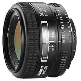 Nikon AF NIKKOR 50mm f/1.4D thumbnail