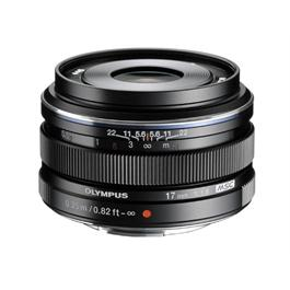 Olympus M.Zuiko Digital 17mm f/1.8 Lens - Black thumbnail