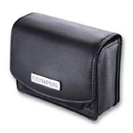 Olympus Leather Case for MJU Cameras Black thumbnail