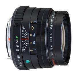 SMC Pentax-FA 77mm f/1.8 Limited Lens - Black thumbnail